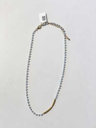 Light Grey/Gold Necklace