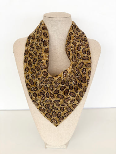 Milan Gold Leopard Necklace