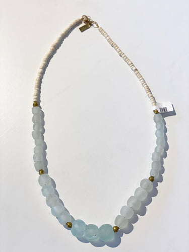 Clear Gradating Necklace