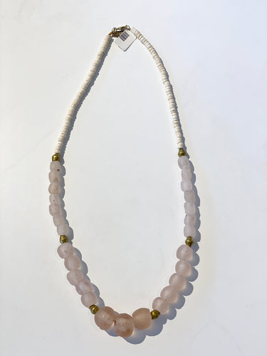 Pink Gradating Necklace