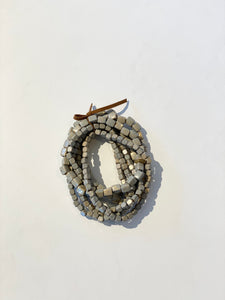 Grey Coated Bracelet