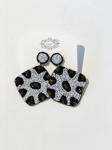 Elijah Diamond Shape Earrings