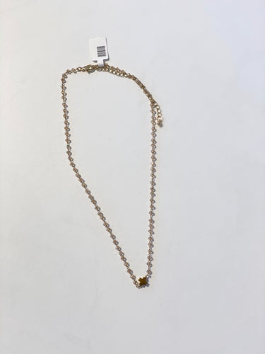 Champagne Rosary Necklace