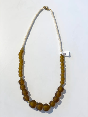 Amber Gradating Necklace