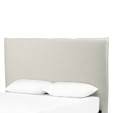 Junia King Headboard Saville Flax