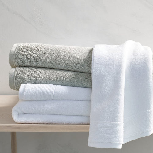 Kyoto White Bath Towels