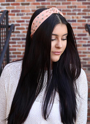 Morgan Peachy Pink Headband