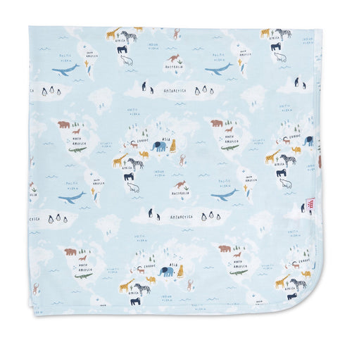 Sea The World Modal Swaddle