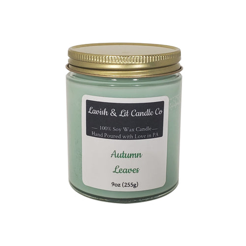 Autumn Leaves- Scented Candle