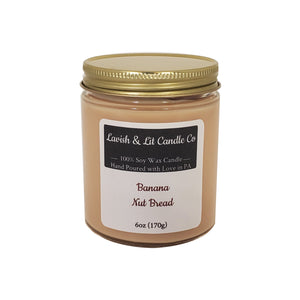 Banana Nut Bread - Scented Candle