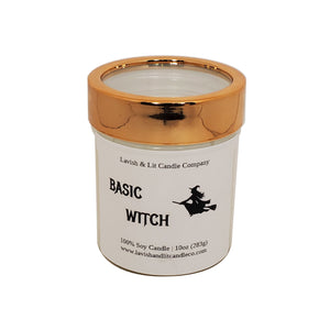 Basic Witch Candle, Funny Halloween Decor, Halloween Candle