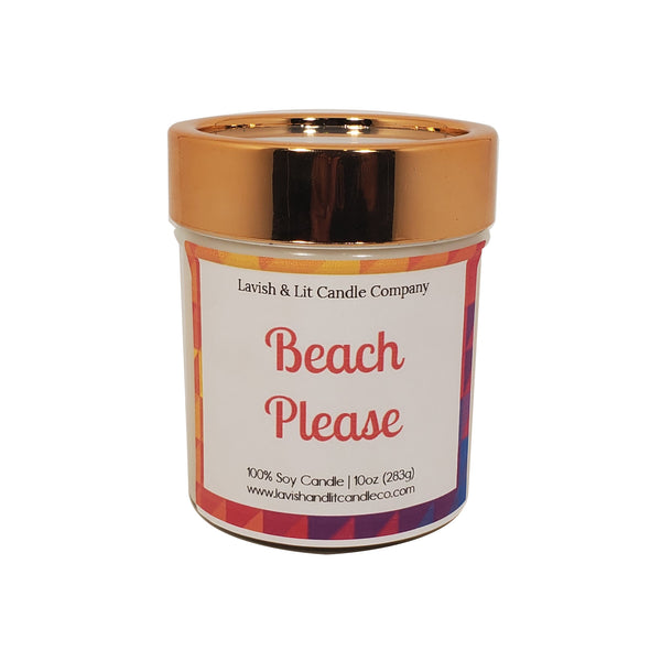 Beach Please - Scented Candle