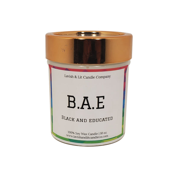 Black & Educated (BAE) - Scented Candle