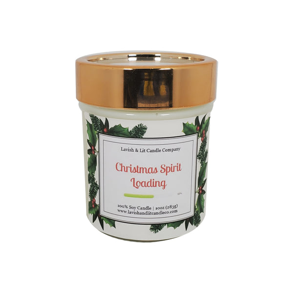 Christmas Spirit Loading - Scented Candle