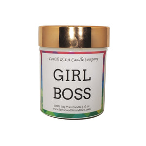 Girl Boss - Scented Candle