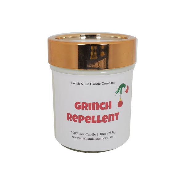 Grinch Repellent - Scented Candle