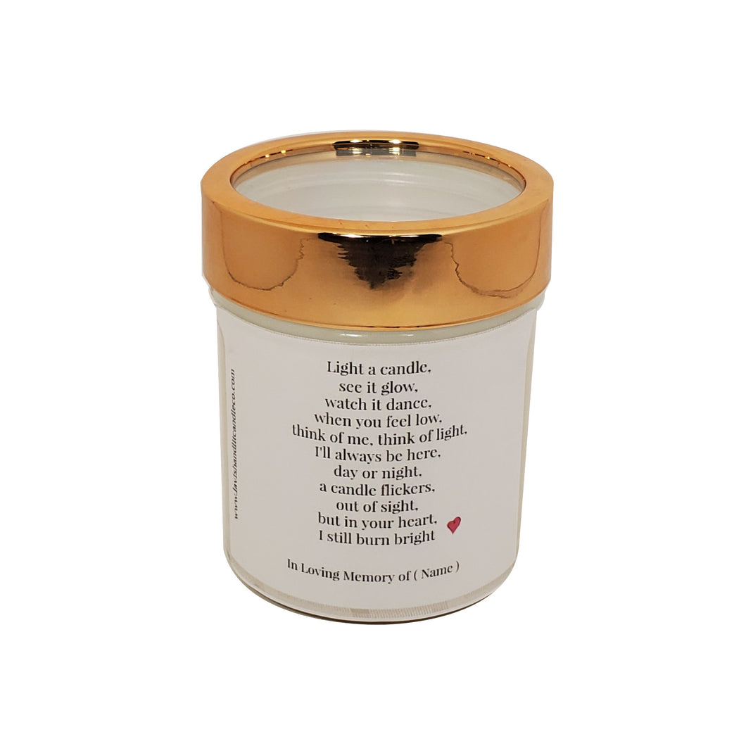 In Loving Memory - Scented Candle