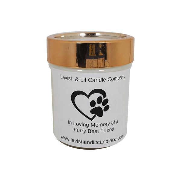 In Loving Memory of a Furry Friend - Scented Candle