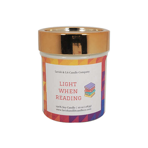Light When Reading - Scented Candle
