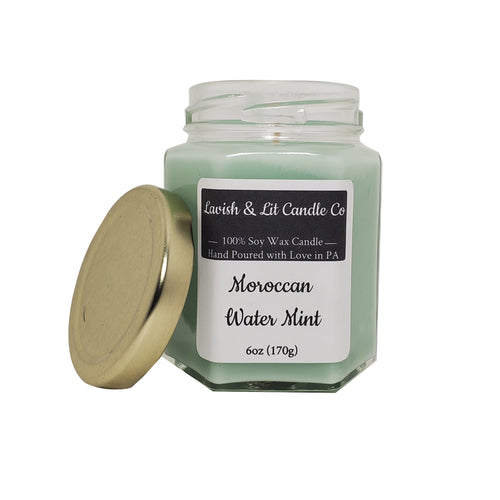 Morroccan Water Mint - Scented Candle