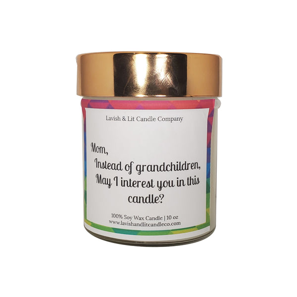 Funny Candle for Mom - Scented Candle