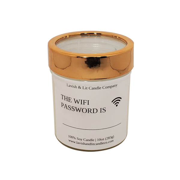 The Wifi Password - Scented Candle