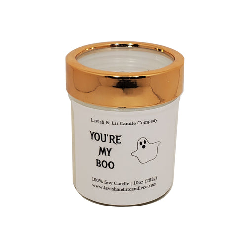 You're My Boo, Halloween Candle, Fall Candle Decor