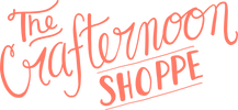 Script logo for The Crafternoon Shoppe