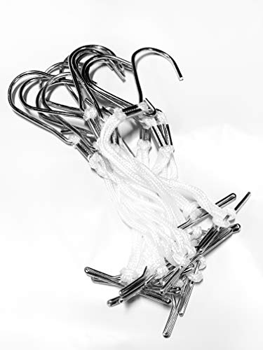 Pattern Hooks (12 Pieces) Knotted And Metal Clamped, Hardened Steel Hook : Arts, Crafts & Sewing