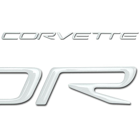 1997-2004 C5 Corvette Front Domed Decal Letters-Letter Sets & Emblems-Vette Works International