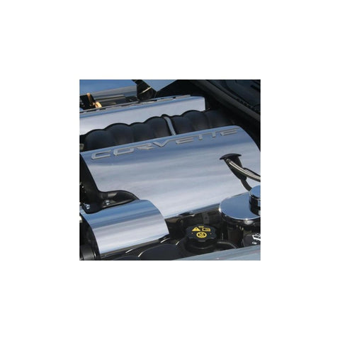 2005-2013 C6 Corvette Polished Stainless Steel Fuel Rail Covers-Engine Dress-Up/Under Hood-West Coast Corvettes