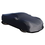 C8 Corvette Onyx Satin Indoor Car Cover : Black