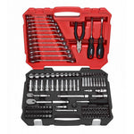 "Corvette BOXO USA 122-Piece Metric 1/4"" & 3/8"" Drive 6-Point Socket & Open End Wrench Set"