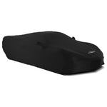 C8 Corvette Satin Stretch Indoor Car Cover : Black