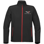 Corvette Men's Matrix Soft Shell Jacket : C6