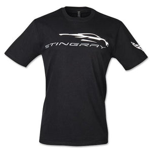 Next Generation Corvette Stingray Gesture T-shirt : Black