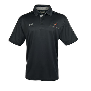 Next Generation Corvette Men's Under Armour Tech Polo : Black