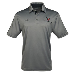 Next Generation Corvette Men's Under Armour Tech Polo : Graphite