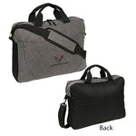 C8 Corvette Port Authority Briefcase - Black