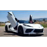 Corvette Lambo Style Vertical Doors - Hinge Conversion Kit : C8 2020-2021