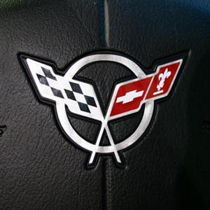 C5 Corvette Steering Wheel Decal : 1997-2004-Misc Interior-DOT Products