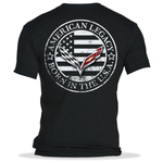 C7 Corvette Born in the USA American Legacy T-shirt : Black-T-shirts-SR1 Performance