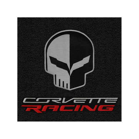 C7 Corvette Cargo Mat - Lloyds Mats with Corvette Racing Script and Jake Logo : Stingray, Z51, Z06, Grand Sport-Cargo Mats-Lloyd Floor Mats