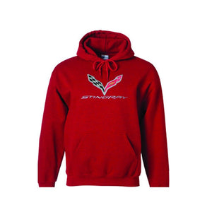 C7 Corvette Embroidered Sweatshirt Hoodie-Sweatshirts-Ralph White Merchandising