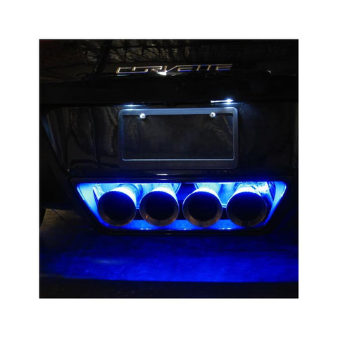 C7 Corvette - Exhaust LED Lighting Kit : Stingray, Z51, Z06, Grand Sport, ZR1-Exterior Lighting Accessories-Custom LED Lighting