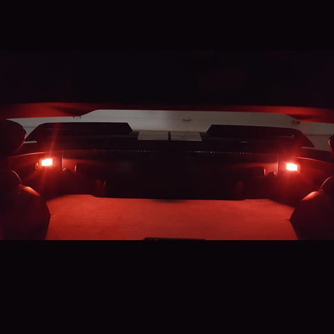 C7 Corvette - Hatch/Trunk LED Bulb Lighting Kit 2 Pc : Stingray, Z51, Z06, Grand Sport, ZR1-Interior Lights-Custom LED Lighting