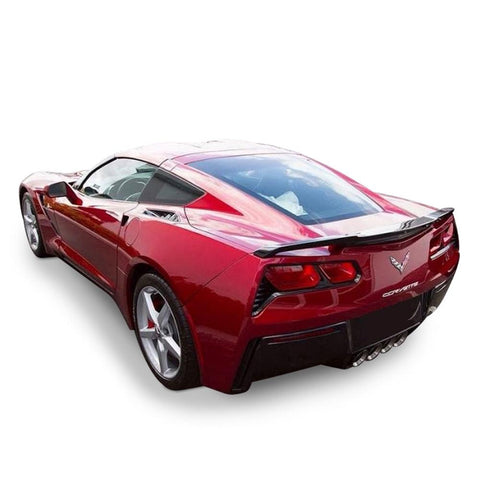 C7 Corvette High Rise Factory Style Rear Spoiler - Painted : Stingray-Body Parts-DAR Spoilers