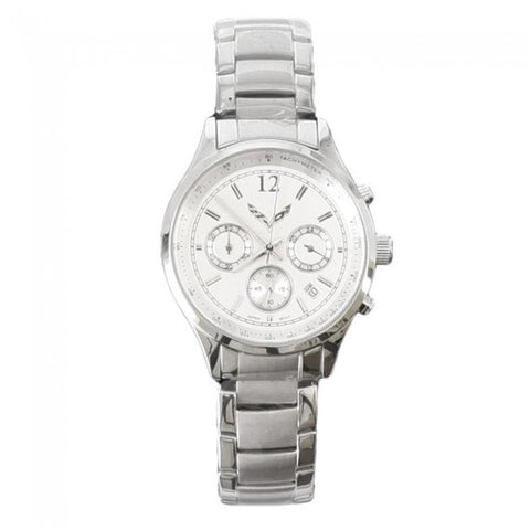 C7 Corvette Ladies Chronograph Watch - Silver-Watch-Burston Marketing