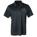 C7 Corvette OGIO Surge Polo - Blacktop-Polo Shirts-Ralph White Merchandising