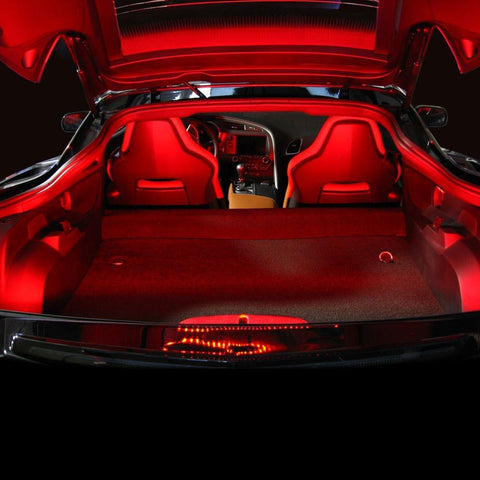 C7 Corvette - Rear Hatch/Trunk LED Strip Kit : Stingray, Z51, Z06, Grand Sport, ZR1-Interior Lights-Custom LED Lighting